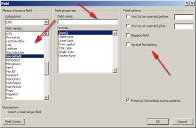 Microsoft Word Update All Fields Fields Overview Aspose Words For Net Documentation