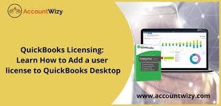 add a user license in quickbooks desktop