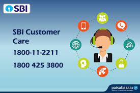 sbi customer care 24x7 toll free number