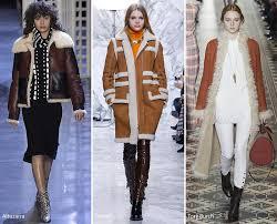 fall winter 2016 2017 fashion trends shearling coats