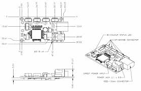 technical application notes figure 3 firefly mv pcb dimensions