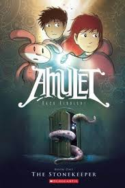 the stonekeeper amulet book 1 by kazu kibuishi age 8 up graphic novel