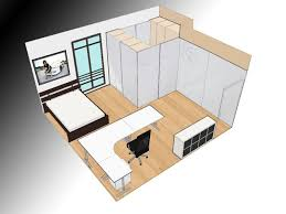home office planner. Wonderful Bedroom With Soft Brown Floor And Home Office L Shaped Desk Design Room Planner