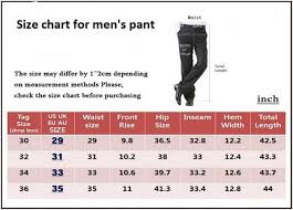 Mens Jeans Sizes Conversion Chart Mens Size Charts And Sizing Guide Brooks Brothers