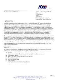 Sample Letter Introducing New Business Example Good Resume Template