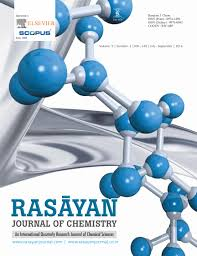Chemistry Cover Page Designs Rasayan Journal Of Chemistry