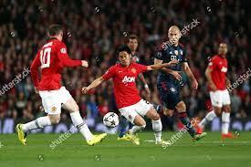 Shinji Kagawa Manchester United Arjen Robben Bayern Editorial Stock Photo -  Stock Image