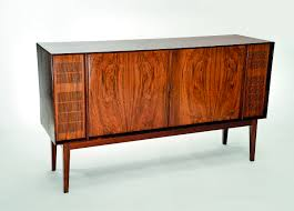 1960s Record Cabinet Bang Olufsen Early 1960s Palisander Rosewood Stereo Cabinet