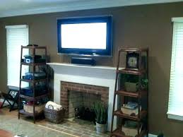 modern tv above fireplace design ideas and fireplace ideas mounting over fireplace wall mounted over fireplace