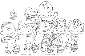 Free Charlie Brown Snoopy And Peanuts Coloring Pages Free Printable
