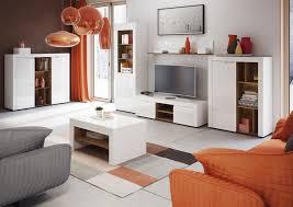 calvino floating shelf white white gloss lounge wall shelving b35
