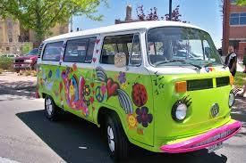 Hippie Buses Seriously My Dream Carjust Would Rather It Be Baby Blue Or