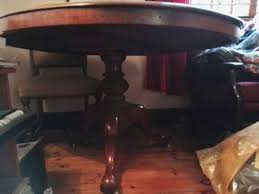 beautiful rosewood round table