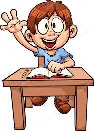 Resultado de imagen para alumno trabajando animado