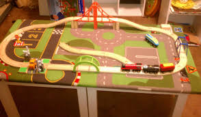 Train Set Table With Drawers Home Lack Tables Turn Into A Train Table