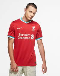 Liverpool FC 2020/21 Stadium Home Herren-Fußballtrikot. Nike DE