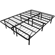 Queen-size Duramatic Steel Folding Metal Platform Bed Frame ...