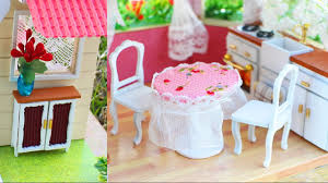 Image Cardboard Dollhouse Youtube How To Make Miniature Dollhouse Furniture Simplekidscrafts