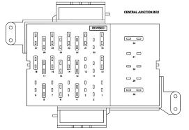 Ford Crown Victoria Fuse Box Legend 04 Crown Vic Fuse Box Diagram