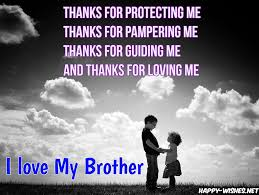 I Love My Brother Quotes I Love You Brother