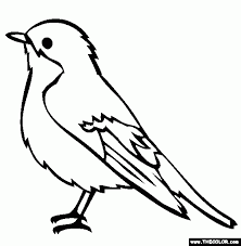 Small Picture Realistic Bird Coloring Pages Print Realistic Bird Coloring Pages