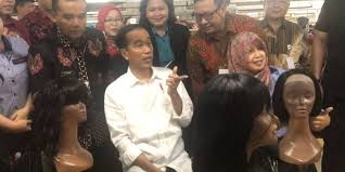 Lowongan kerja pt sung chang indonesia purbalingga loker purwokerto. Jokowi Tinjau Pabrik Tempat Asal Wig Madonna