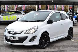 vauxhall corsa 1 2 limited edition 3 door white 2018