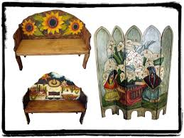painted mexican furniturehand painted mexican furniture  Mexican Rustic Furniture and Home