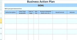 Financial Plan Template Excel Templates Collections Month Business ...