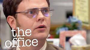 michael scott s letter of recommendation for dwight jim threatens dwight with a full disadulation the office us