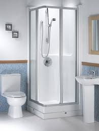 Corner Showers For Small Bathrooms Stunning Bathroom Interior Shower