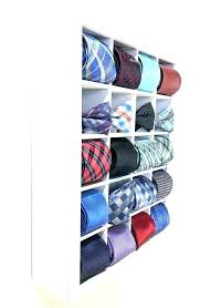 tie organizer box necktie holder storage hanger groom gift bow tie organizer box