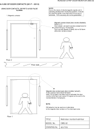 closed door drawing. page 17 of dms-02 door sensor user manual ui dms-02v4 rondish co closed drawing