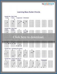 Basic Bass Chords Learning Bass Guitar Chords Lovetoknow