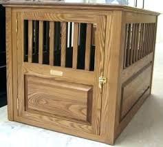 wooden dog crate furniture. Decorative Dog Crates Crate Furniture Wooden Hand Made Solid Ash Wood