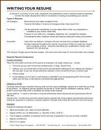 Functional Resume Sample For Career Change Resume Templates Career
