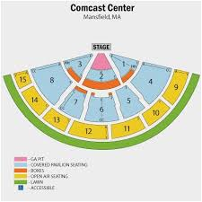 Logical Xfinity Center Seat Numbers Meadows Music Center