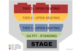 Gsr Seating Chart General Admission