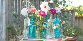Decorative Jars And Vases Decorative Vintage Glass Bottles Jars Wedding Decor 29