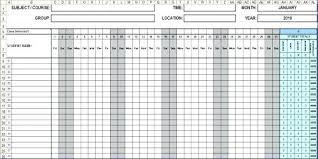Employees Attendance Sheet Template Attendance Sheet Template Excel Free Employee Attendance Sheet