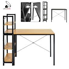 tables for home office. Detachable Computer Desk With 4 Shelves PC Table Home Office Study Workstation Tables For A
