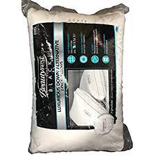simmons pillows. beautyrest black luxurious down alternative pillows 400 thread jumbo - 2 pack simmons c