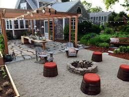 hottest backyard trends u003eu003e httpwwwhgtvcomlandscapinghotbackyard designideastotrynowpicturespage6htmlsocu003dpinterest backyard design ideas with fire pit a96 fire