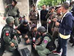 Ata Trained Royal Thai Police Respond To Multiple Explosions