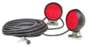 grote industries rv marine utility lights heavy duty supernova® led magnetic towing kit