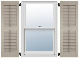 faux wood shutters exterior for modern style exterior fiberglass shutters louvered faux tilt style