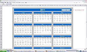 Ms Excel Yearly Calendar 1900 2100 Learn Computer