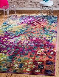 unique loom barcelona collection multi 10 x 13 area rug 10 x 13 b0119s7uja 4foobjsd