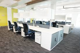 storage and office space. 3 1 Desks With Overhead Storage And Additional Desk High Office Space