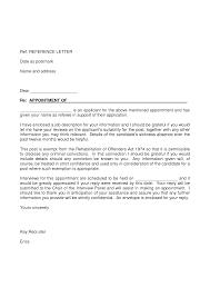 Formal Application Letter Format For A Job